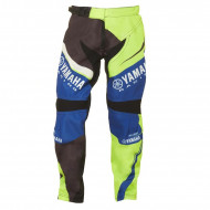 audemar:PANTALON CROSS GRANDS ENFANTS YAMAHA 2017 MX DUNCASTER JAUNE NOIR