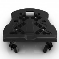 audemar:SUPPORT TOP CASE NOIR POUR YAMAHA TRICITY 125