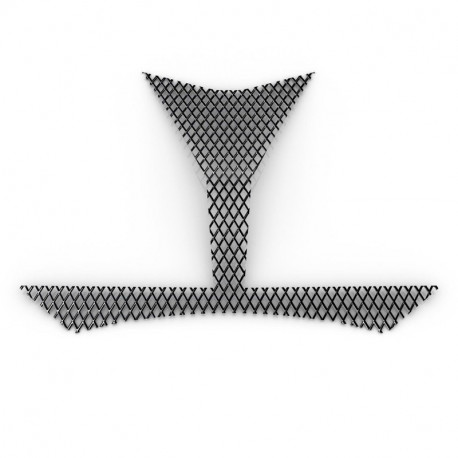 grille d 39 entr e d 39 air frontale pour yamaha tracer 900. Black Bedroom Furniture Sets. Home Design Ideas