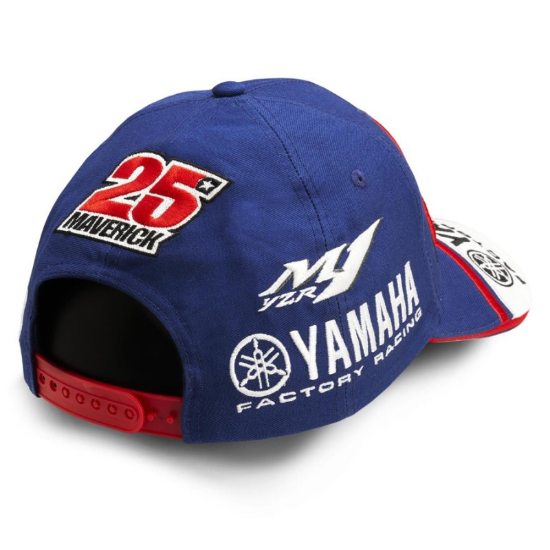 casquette adulte maverick vinales 2017 yamaha audemar. Black Bedroom Furniture Sets. Home Design Ideas