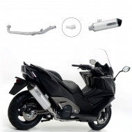 audemar:RACCORD RACING ARROW URBAN POUR KYMCO AK550