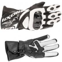 Gants IXON RS Chicane HP Noirs et Blancs